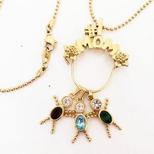 Charm Kids #1 Mom Necklace